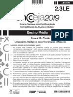 Ensino médio – Linguagens, códigos e suas tecnologias (ledor) – Aplicação regular.pdf