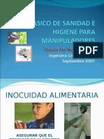 1  CURSO BASICO DE SANIDAD E HIGIENE PARA MANIPULADORES