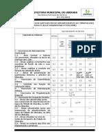 Quadro 5 do Anexo II - Lei de Uso e Ocupação do Solo (Coeficientes)