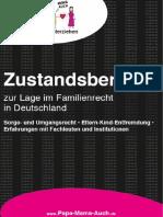 Zustandsbericht Zur Lage Im Familienrecht in Deutschland