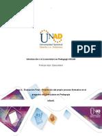 Formato proceso formativo en el programa de Licenciatura- Paso 4, unidad 3 (1)