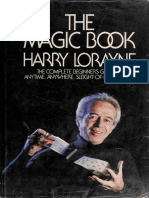 Harry Lorayne - The Magic Book_ The Complete Beginner's Guide to Anytime, Anywhere, Sleight-Of-Hand Magic-G.P. Putnam's Sons (1977).pdf