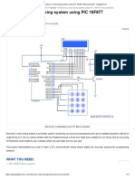 Electronic Code locking system using PIC 16F877 Mircocontroller - Gadgetronicx 2.pdf
