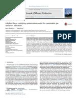 Hybrid Fuzzy Satisfying Optimization- IrEnergy- Sustainable Gas Resources