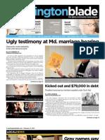 washingtonblade.com - volume 42, issue 6 - february 11, 2011