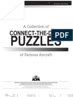 A Collection of Connect-the-Dots Puzzles of Famous Aircraft