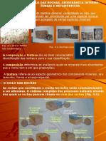 Capítulo 4 - Geodinâmica Interna - Rochas Ígneas e Metamórficas-1.ppt