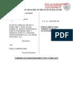 Cigna investor lawsuit re Anthem deal