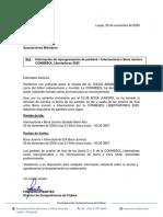 Conmebol y el comunicado sobre el cambio de día de Boca - Inter de Porto Alegre