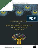 Annual Report of MERAKI Ltd. (2019-20).pdf