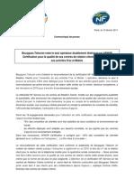 CP Bouygues Telecom Certification Des Centres de Relation Clients Par AFNOR-1