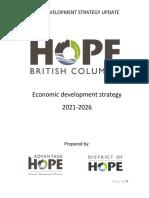 2021-2026 Draft Economic Development Strategic Plan