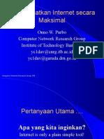 MEMANFAATKAN INTERNET SECARA MAKSIMAL