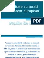 Identitate nationala in context european