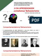 05  Teorias da aprendizagem - BEHAVIORISTAS