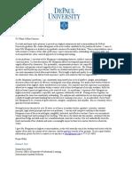 donna kiel letter of recommendation