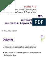 Ch01- Introduction au Logiciel Libre
