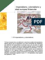 Imperialismo y europa finisecular