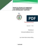 Fórmulas de Ecxel .pdf
