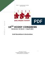ECOSY Congress 11 Draft RnD Final