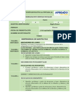 FLEXIBILIZACION TALLERES SOCIALES  3 PERIODO - GRADO CUARTO