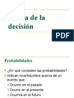 Teoria de La Decision