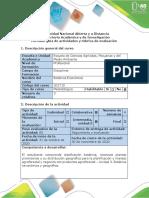Guía de actividades y rúbrica de evaluación - Tarea 3 - Clasificación