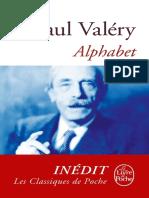 Alphabet (LdP) - Paul Valery