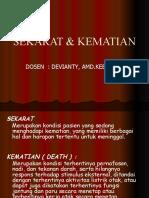 SEKARAT & KEMATIAN KDPK