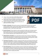 China's 5 Year Plan
