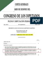 Proceso Mocion Congreso cambio Título de la Ley
