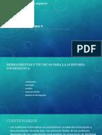 Unidad IV. Auditoria Informática (2)