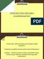 HUKUM TATA NEGARA (Constitutional Law)