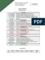 CALENDÁRIO ACADÊMICO - 2020-2 - EAD