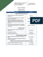 CALENDÁRIO ADMINISTRATIVO - 2020-2 - EAD