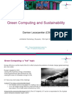 Green computing and sustainability