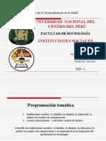 INSTITUCIONES SOCIALES.ppt