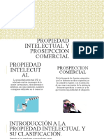 PROPIEDAD INTELECTUAL Y PROSEPCCION COMERCIAL