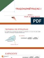 Razones Trigonometricas i - Nivel 1