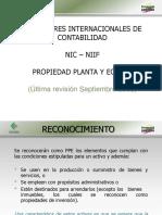 NIC16 PROPIEDAD PLANTA Y EQUIPO