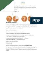 Determinamos el tiempo que implica desarrollar la propuesta de actividades para el logro de metas personales haciendo uso de operaciones con expresiones fraccionarias.docx