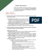 Taller & Proyecto 01 FEP UMIAMI&UNAB Programa Advance Trimestral
