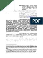 REITERA SOLICITUD ANULACION DE REGISTRO