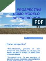 La prospectiva como modelo de predicción