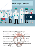 Function (Role) of Nurses