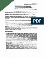11th Addendum to the 8th Declaration of Public Health Emergency