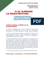 06 EL EXITO AL EJERCER LA ARQUITECTURA (1)