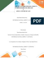 FASE 2 ESTUDIO DE CASO SOBRE DEMANDA, OFERTA Y PUNTO DE EQUILIBRIO DEL MERCADO - DIANA MORALES DOZA.docx