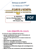 Épidémiologie - Programme Élargi de la Vaccination PEV (Parnet)