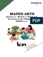 Arts- Module - 2 Quarter 2_weel3- week4